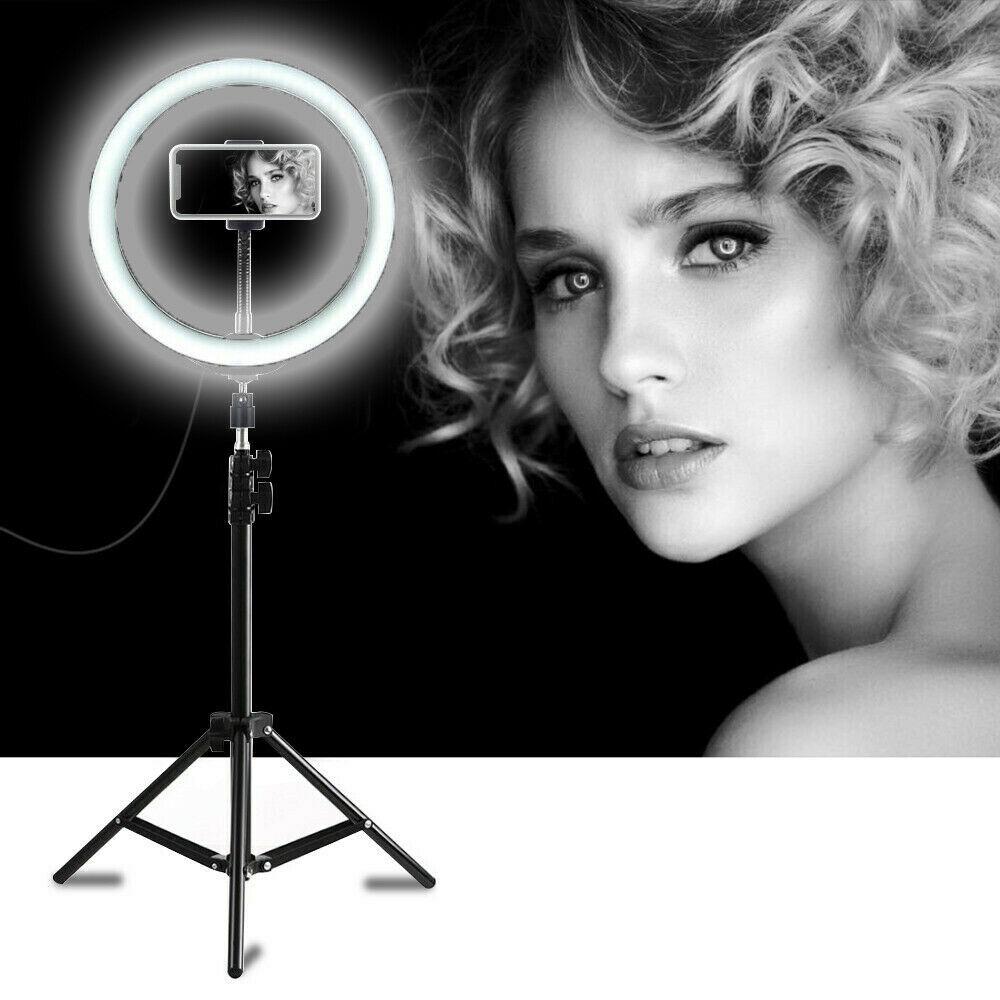 Lampada Anello luminoso a LED con treppiedi regolabile 30 cm