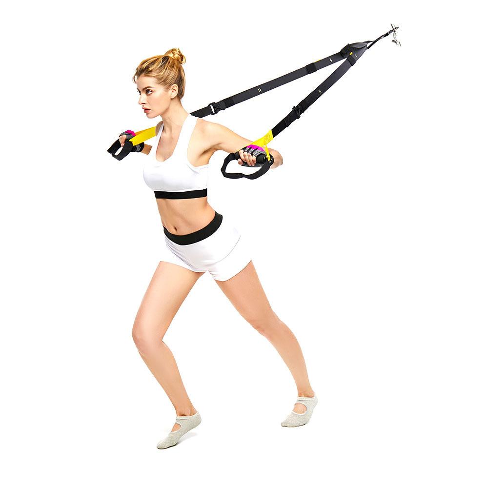 Cinghie per allenamento di Resistenza, in Sospensione con Peso corporeo