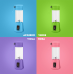Frullatore portatile USB - carica fino a 20 ore