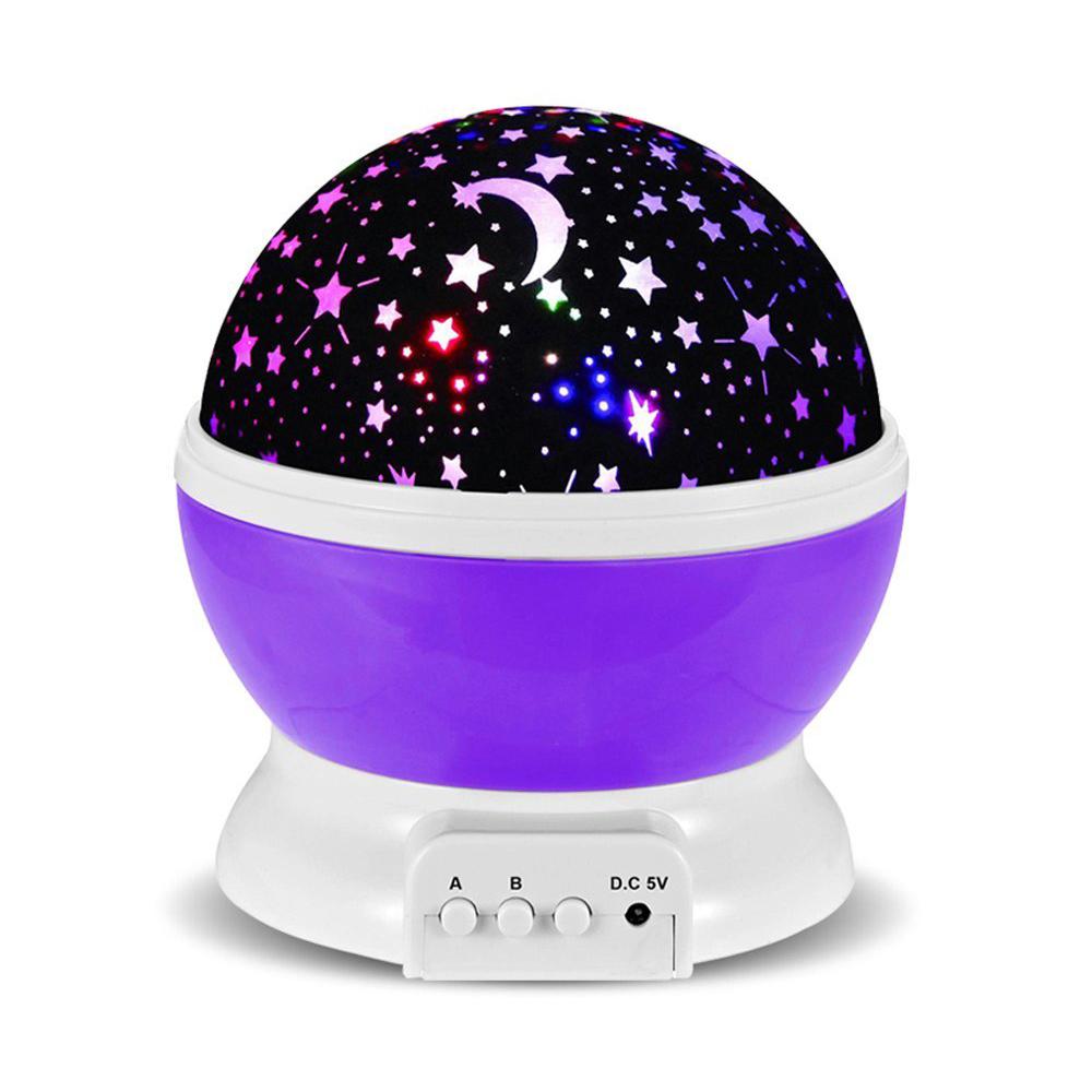 Lampada Proiettore di Stelle a due funzioni (Night LED Lamp)