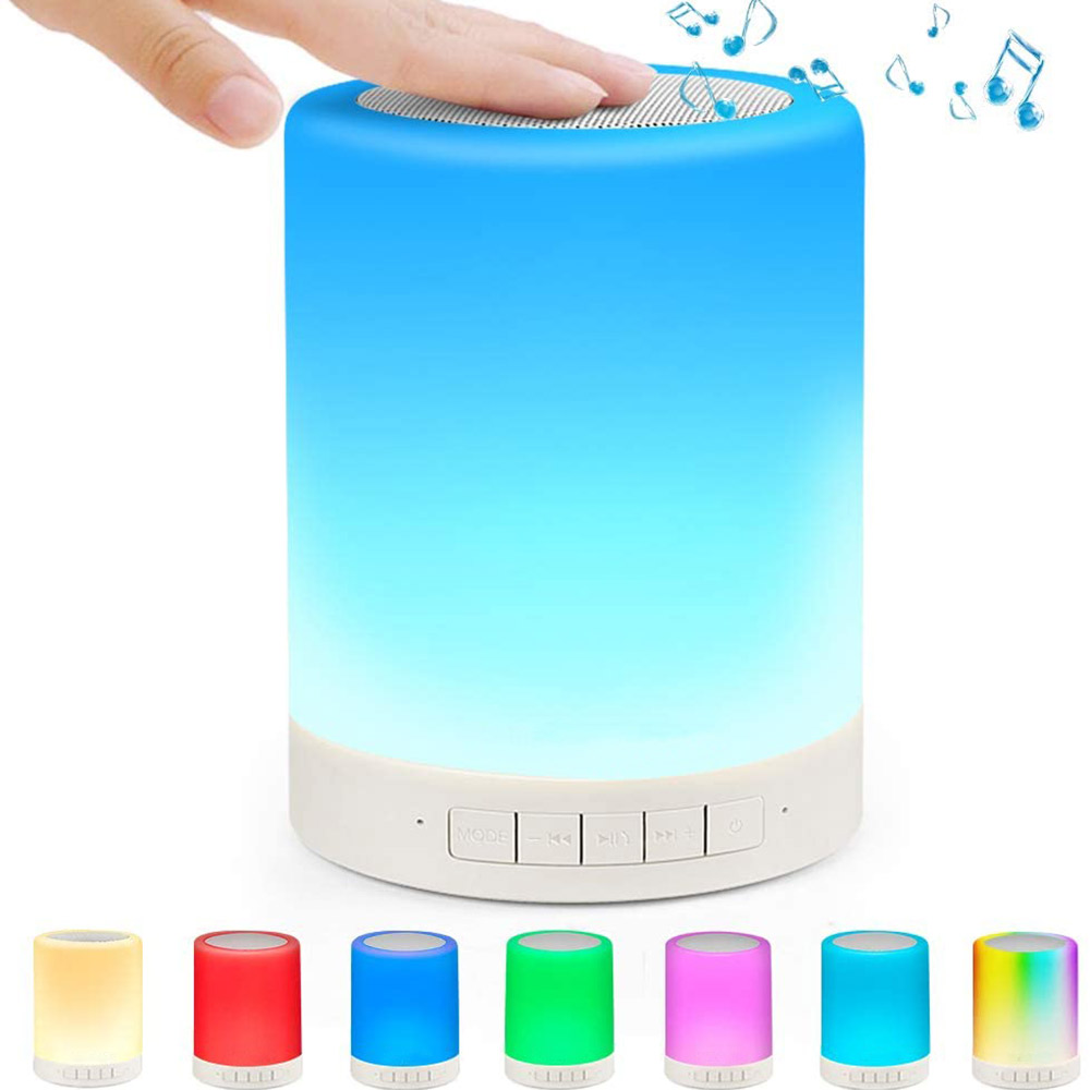 LAMPADA SPEAKER AUDIO BLUETOOTH LED MULTICOLOR