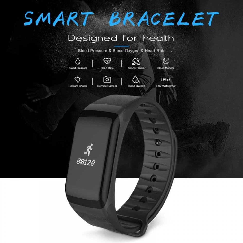 Orologio Sport digitale Smart Health SP1 braccialetto fitness frequenza cardiaca e pedometro