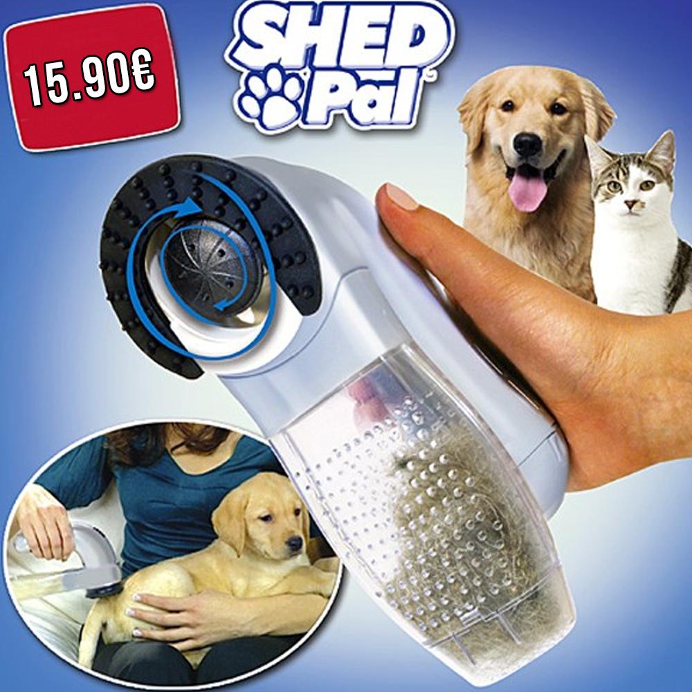 Aspira E Rimuove Peli in Eccesso Massaggiando Il Tuo Animale Domestico, Per  Cane E Gatto