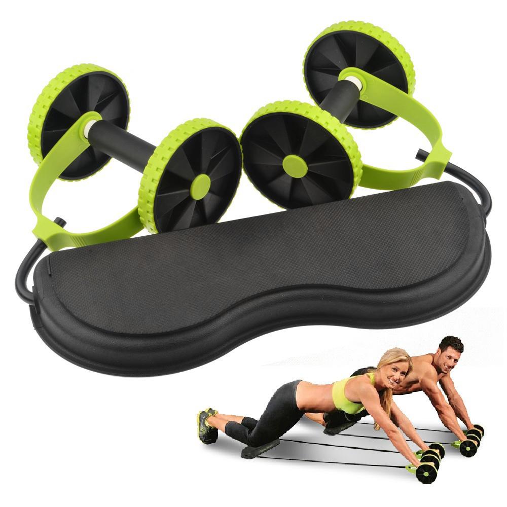 Attrezzo Palestra Roller Esercizio Fisico Revflexy Extreme Muscoli Addominali
