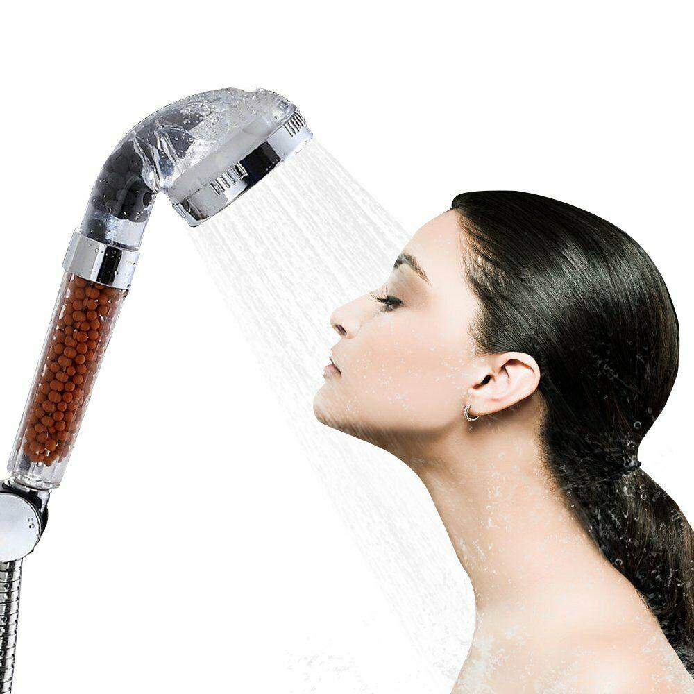 Soffione doccia filtro depuratore ionizzante risparmio acqua e no al calcare